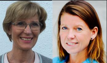Ulrika Lindman, distriktsläkare och verksamhetschef  på Djursholms läkarmottagning och Malin Sandberg, verksamhetschef på Täby vårdenhet och Stocksund vårdcentral i Stockholm.