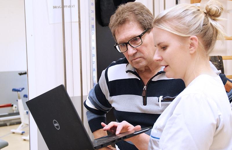 App för egenrehab provas av höftpatienter