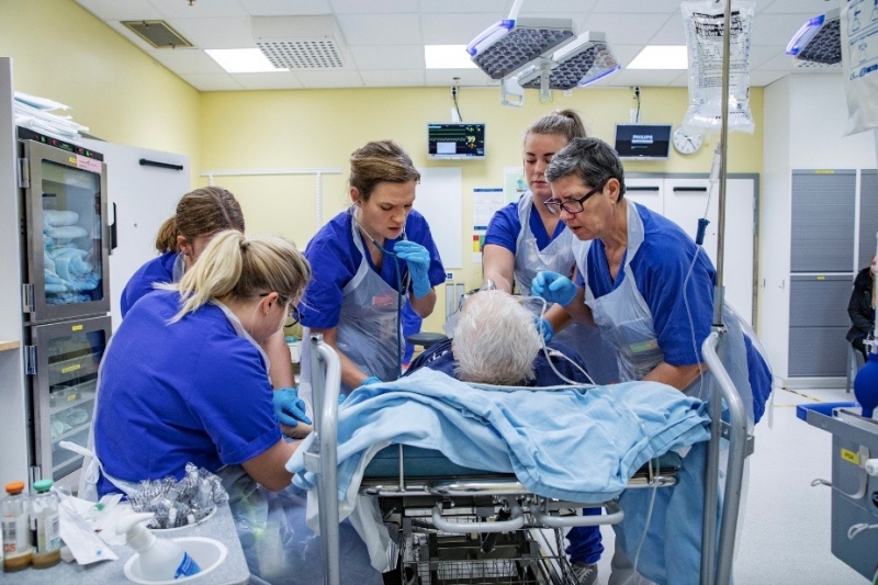 Sahlgrenska skapar centrum för sköra äldre