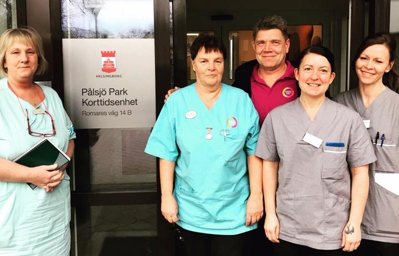 Samarbete över vårdgivargränser i Helsingborg