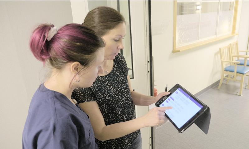 Digitalt verktyg engagerar patienter i vården