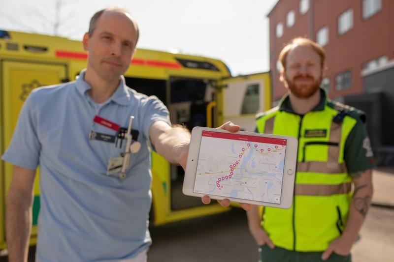 App för stroke sparar livsviktig tid