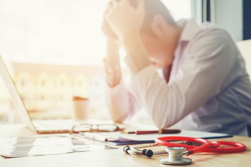 Hög risk för utbrändhet bland vårdpersonal