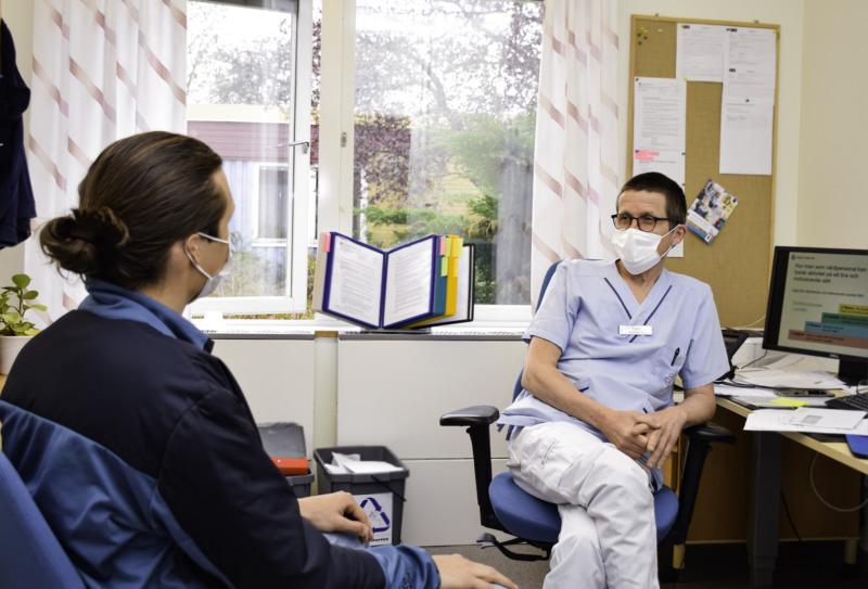 Ny modell uppmuntrar till hälsofrämjande samtal