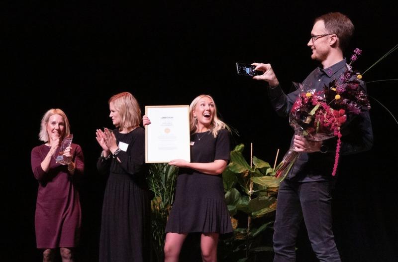 De vann Svenska Leanpriset